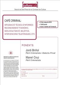 Cafe Criminal ICAB